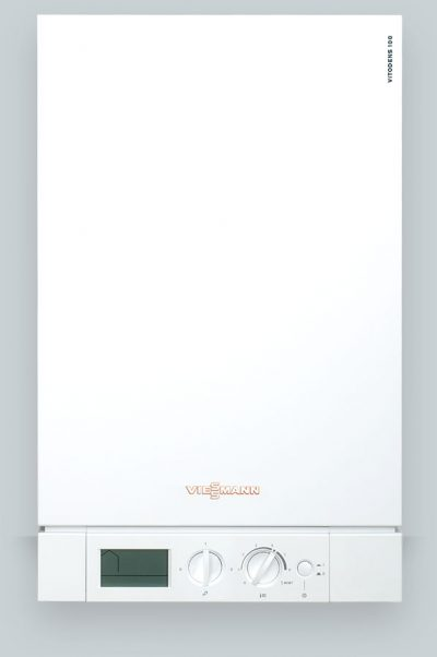 Viessmann Vitodens 100 gas boiler with open vent