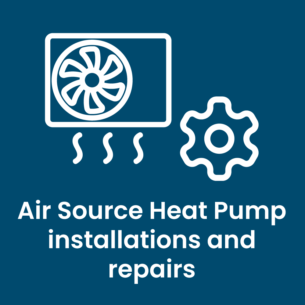 Air Source Heat Pump installations and repairs
